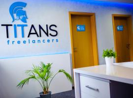 Fotografia pracoviska spoločnosti TITANS freelancers, s.r.o.