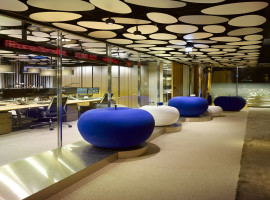 Fotografia pracoviska spoločnosti J&T Banka a.s., pobočka zahraničnej banky